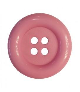 Botón payaso - Color rosa - 25 y 100 unidades