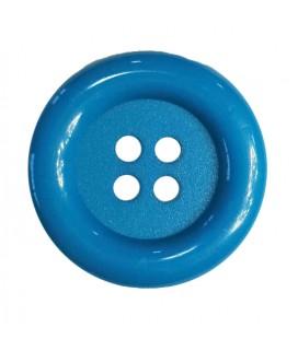 Bouton Clown - Couleur turquoise - 25 et 100 unités