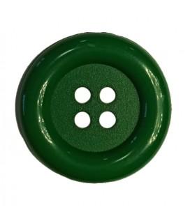 Botón payaso - Color verde esmeralda - 25 y 100 unidades