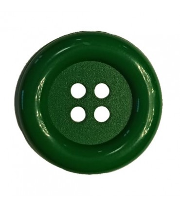 Clown button - Emerald green color - 25 and 100 units