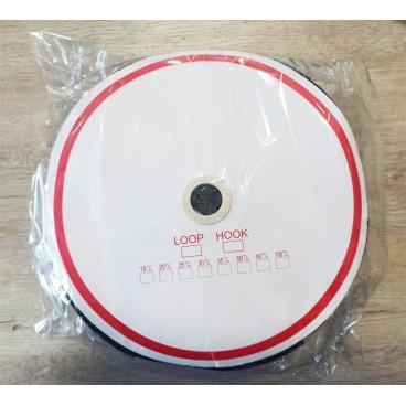 Adhesive Loop Hook 4cm - Roll 25 meters - Color Black