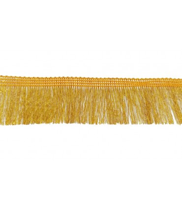 Gold Color Fringe trim - Piece 13 meters