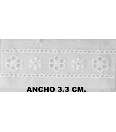 Embroidered strip 6896