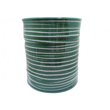 Rubber 6 mm Mask - White and green - 100 meters