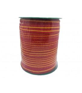 Goma 6 mm Mascarilla - Rojo y amarillo - 100 metros