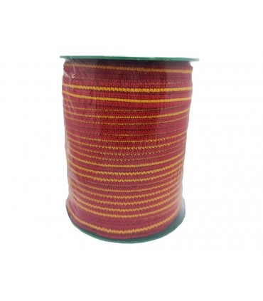 Rubber 6 mm Mask - Red and yellow - 100 meters
