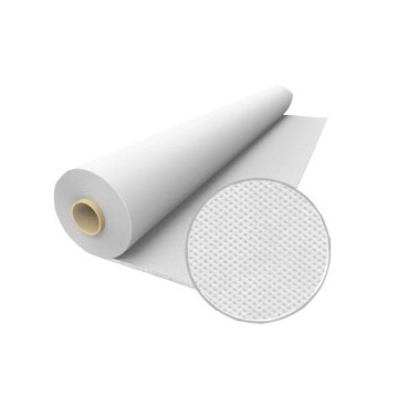Non woven fabric (TNT) - 40 gr - Roll 50 meters - White color