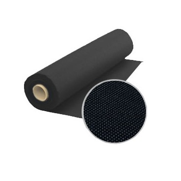 Non woven fabric (TNT) - 40 gr - Roll 50 meters - Black color