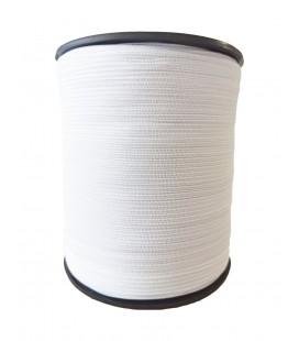 Gummikonfekt 5 mm - Weiße farbe