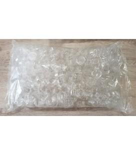 Caja redonda plástico vacias (500 unidades)