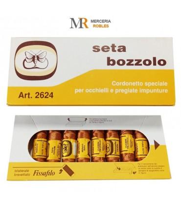 Pure silk thread - 10 spools of 10 meters - Seta Bozzolo