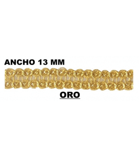 Pasamanería (Ancho 13mm) - Pieza 50 mts.