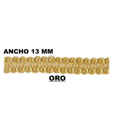 Passementerie (Largeur 13 mm) - Pièce 50 mts.