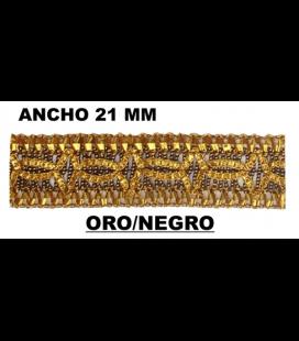 Pasamanería (Ancho 21mm) - Pieza 25 mts.