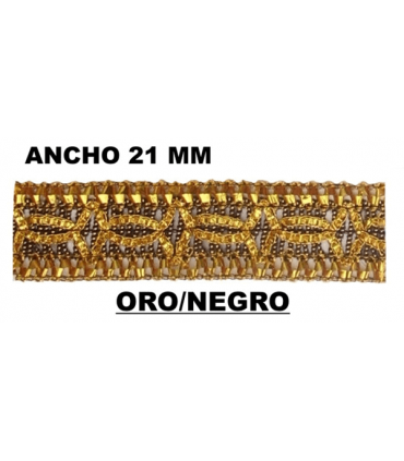 Pasamanería (Ancho 21mm) - Pieza 50 mts.
