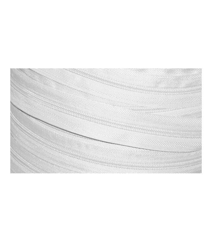 rollo 200 mts cremallera malla 3 2 5 cm ancho color blanco mercer a mayorista robles. Black Bedroom Furniture Sets. Home Design Ideas