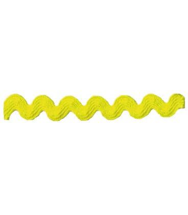 Ondulina Ric Rac - Rollo 50 metros - Color Amarillo