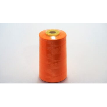 Hilo poliester 5000 yd 40/2 - Naranja (12 uds.)