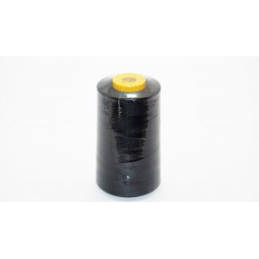 Hilo poliester 5000 yd 40/2 - Negro (12 uds.)
