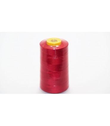 Hilo poliester 5000 yd 40/2 - Rojo (12 uds.)