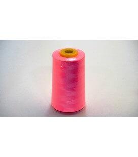 Fil de polyester 5000 yd 40/2 - rose (12 pièces)