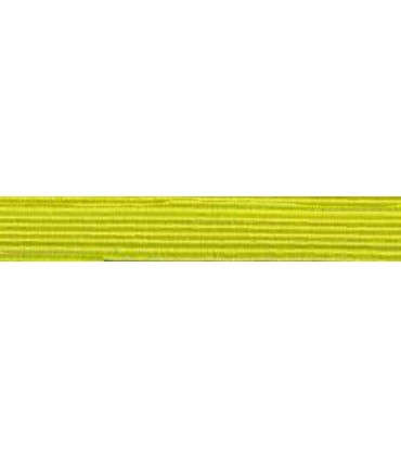 Elastic Braid Rubber - 6mm - Color Yellow - Roll 100 meters
