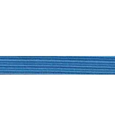 Elastic Braid Rubber - 6mm - Light Blue - Roll 100 meters