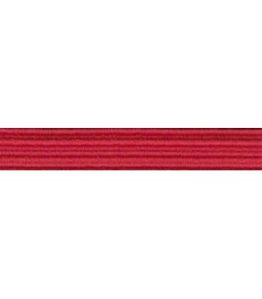 Elastic Braid Rubber - 6mm - Red Color - Roll 100 meters