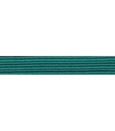 Elastic Braid Rubber - 6mm - Andalusian Green - Roll 100 meters