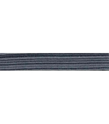 Elastic Braid Rubber - 6mm - Gray Color - Roll 100 meters