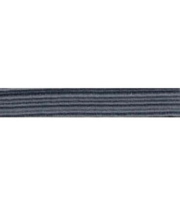 Goma Trenza Elástica - 8mm - Color Gris - Rollo 100 metros