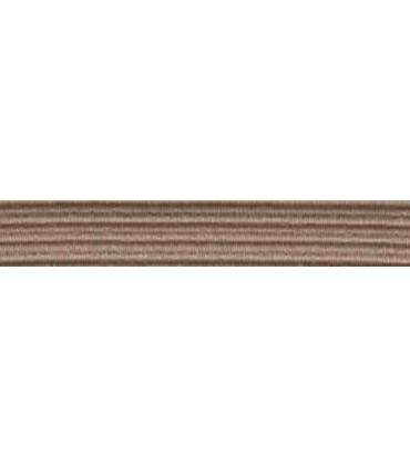 Elastic Braid Rubber - 6mm - Camel Color - Roll 100 meters