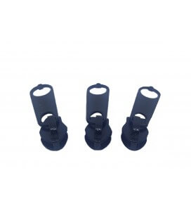 Reißverschluss - Mesh 3 - Schwarz (1000 Einheiten)