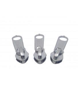Zipper Closure - Mesh 5 - Nickel Color (1000 units)