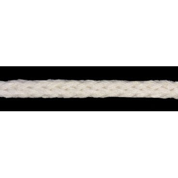 Cordón 100% Algodón - Color Beige - Rollo 100m