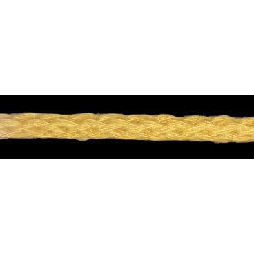 Cordón 100% Algodón - Color Mostaza - Rollo 100m