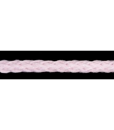 Cordón 100% Algodón - Color Rosa Palo - Rollo 100m