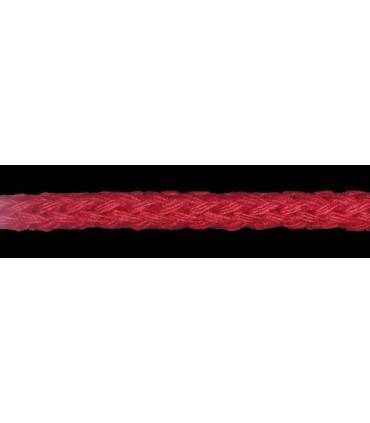 Cordón 100% Algodón - Color Rojo - Rollo 100m