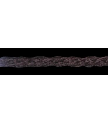Cordón 100% Algodón - Color Marrón - Rollo 100m