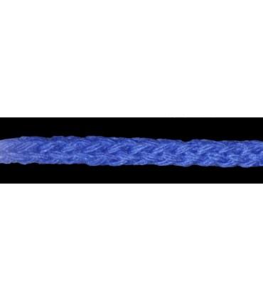 Cordón 100% Algodón - Color Azul Eléctrico - Rollo 100m