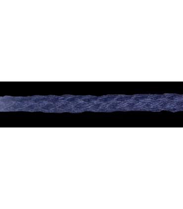 Cordón 100% Algodón - Color Azul Marino - Rollo 100m