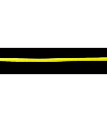 Cordón Elástico - Color Amarillo - Rollo 100m