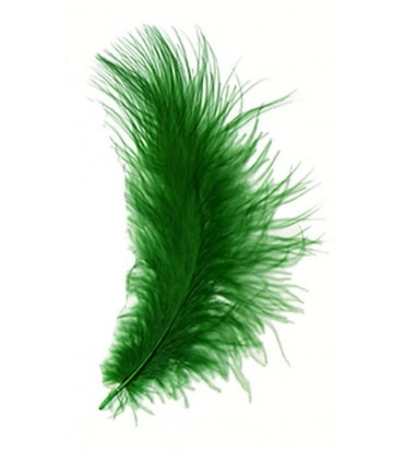Marabou feather