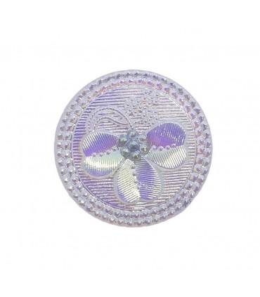 Boutons de cristal