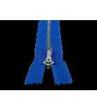 Metallischer Reißverschluss in verschiedenen Farben und Größen