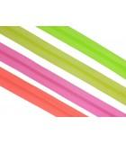 Fluorescent Zippers