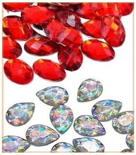 Piedras acrilicas
